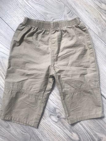 Cieniutkie spodnie 68 na lato cherooke