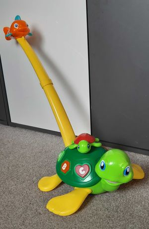 Żółw pchacz dla dzieci Smily Play. Światło,  dźwięk. OKAZJA!
