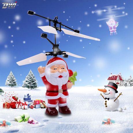 Іграшки. Подарок. Літаючий Дід мороз. Игрушка Летающий Санта Flying Sa