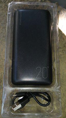 Powerbank 20000 мАч, повербанк, внешний аккумулятор