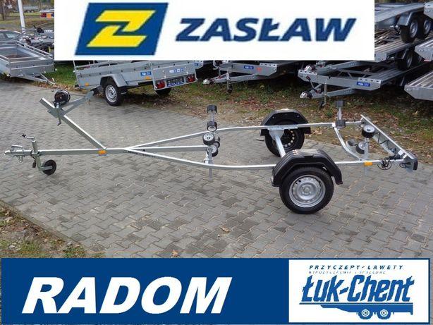 Przyczepa podłodziowa do łodzi do 4,9m DMC 750 kg Zasław