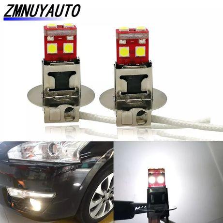 Светодиодные лампы H1 Led 6 SMD 3030-2шт