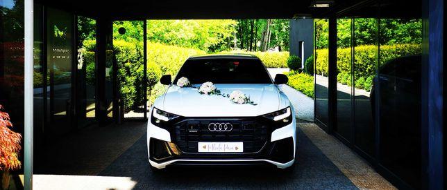 Najnowsze BIAŁE AUDI Q8 na Ślub Wesele SUV - bezkonkurencyjna cena