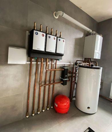 Монтаж систем отопления, водоснабжения, вентиляции, сантехники, басейн