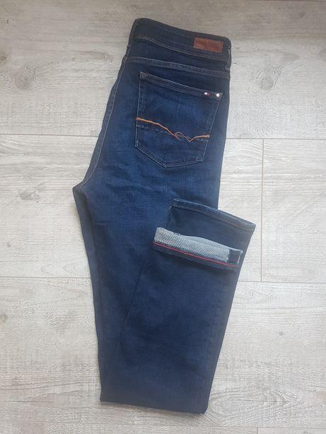 Spodnie jeansowe Tommy Hilfiger Classic Fit Wysoki Stan Jak nowe