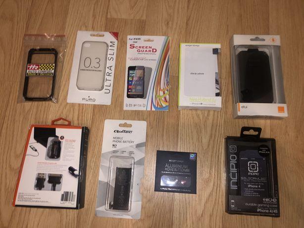 etui case obudowa folia bateria ładowarka iphone 4/4s