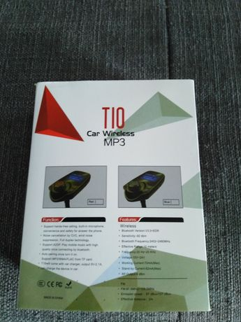 Do sprzedania NOWY Transmiter USB MP 3 BLUTOTH