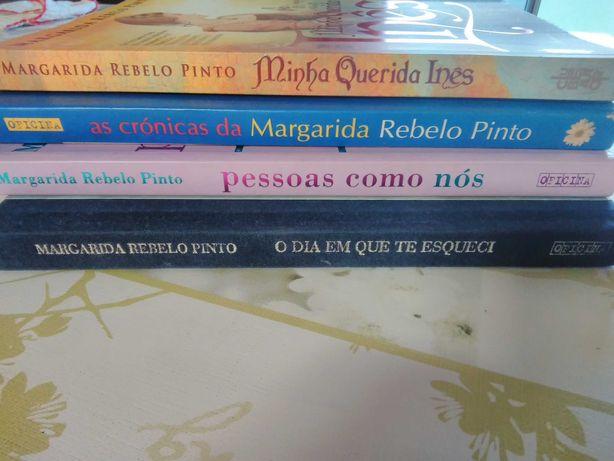 4 livros de Margarida Rebelo Pinto
