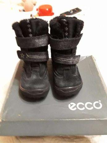 ECCO зимние сапоги ботинки девочке р. 23