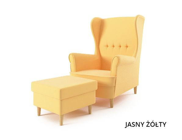 Fotel USZAK z podnóżkiem - od producenta - DOSTAWA GRATIS