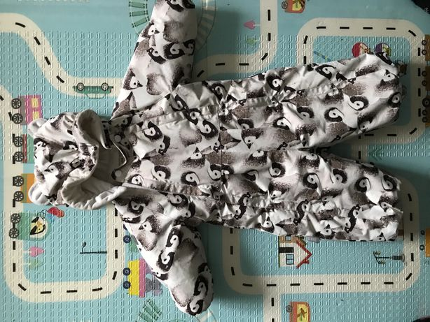 Детский зимний комбинезон Lenne размер 74