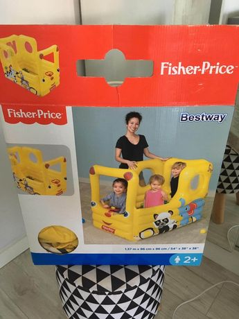 Basen dmuchany Autobus Fisher Price