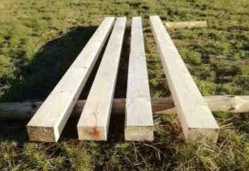 Belki kantówki krokwie heblowane drewno konstrukcyjne legary