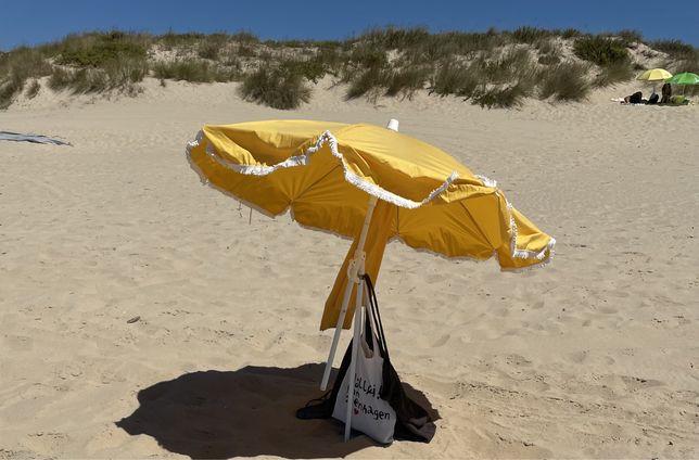 Chapeu de sol praia usado