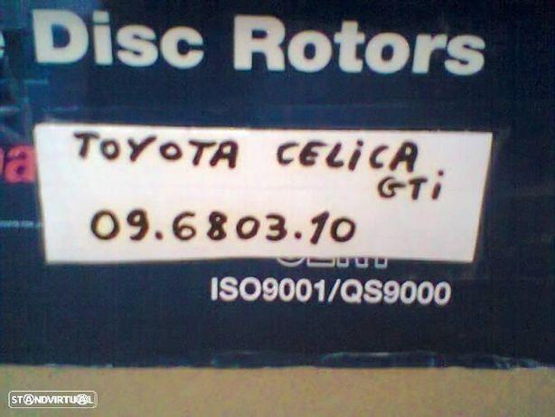 discos travão novos Toyota Celica T18 2.0 gti st182