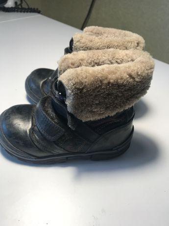 Зимние детские ботинки