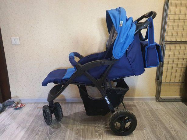 Классная трёхколёсная коляска