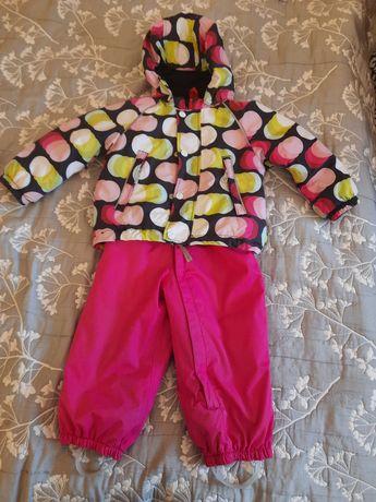 термокостюм Термо Комбинезон на девочку 2 3 года   94 см Reima