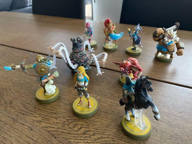 Jogo Zelda (Switch) + Amiibos