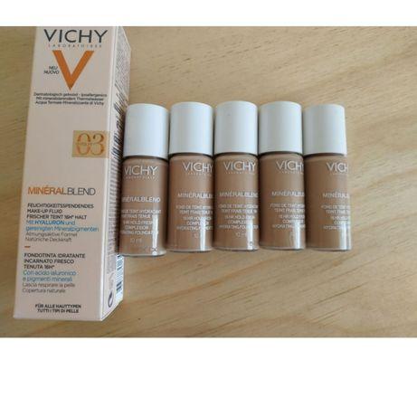 Vichy Mineralblend увлажняющий тональный крем,  тестер 10мл