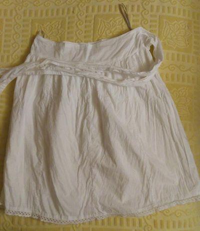 Фирменная белая юбка прошва