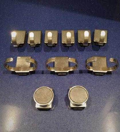 Cabides ROSLE em Aço Inox 18/10 para Pendurar Acessórios de Cozinha