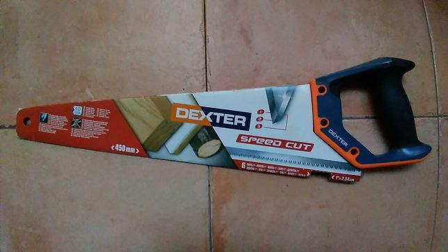 Serrote para madeira (marca Dexter) - como novo