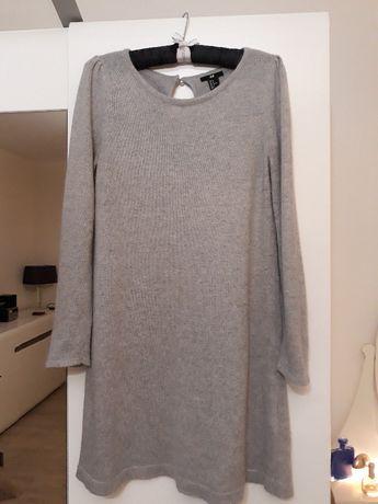 Sukienka jasno-szara