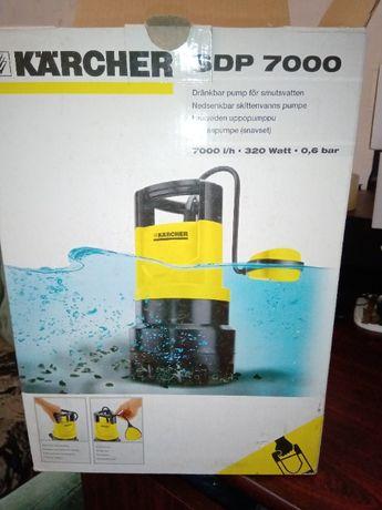 Новый погружной насос Karcher SDP 7000