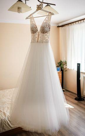 Suknia Ślubna (Ivory) - model PAGE zakupiona w salonie La Mariee 34/36