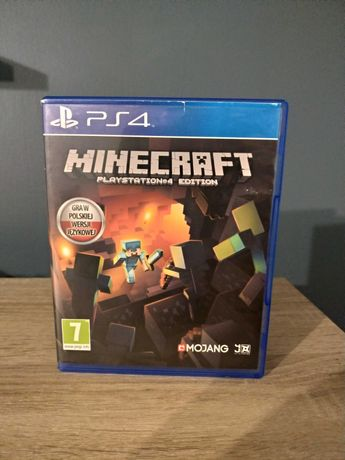 Minecraft PS4 PL.