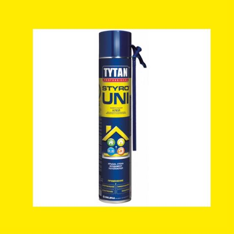 Пена клей монтажная пена Tytan Styro Uni