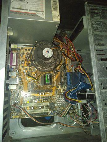 комплект с 2-х ядерным процессором(775s)