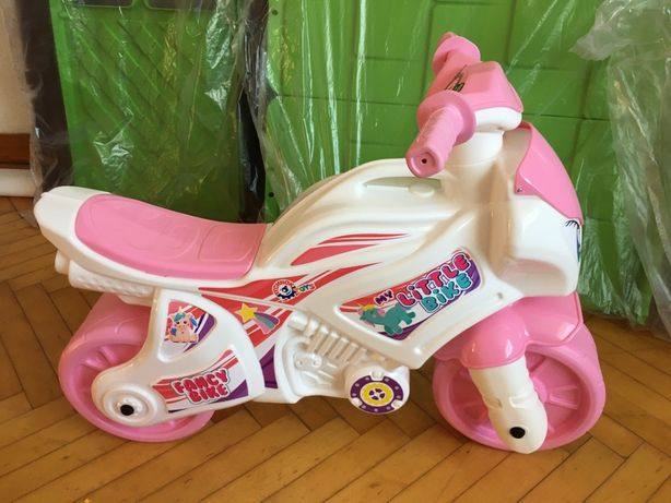 Мотоцикл дитячий , мотоцикл для дівчинки , толокар