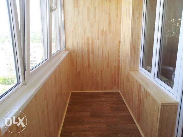 Балкон под ключ Киев Остекление Утепление Вынос Обшивка Ремонт балкона
