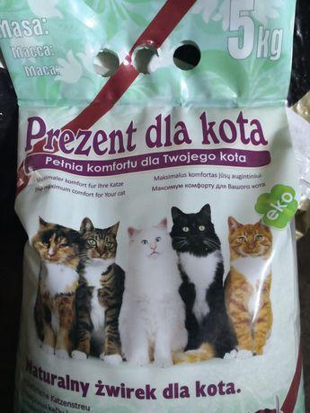 Żwirek dla kota - zapach konwalia majowa