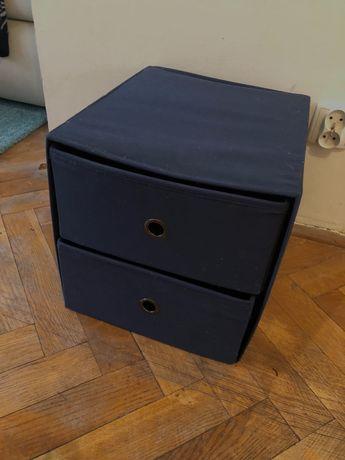 Wkład do regału kallax Ikea szuflady granatowy