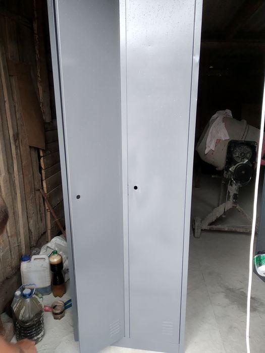 Шкафчик металлический для одежды Херсон - изображение 1