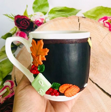 Чашка с декором, Подарок на любой праздник