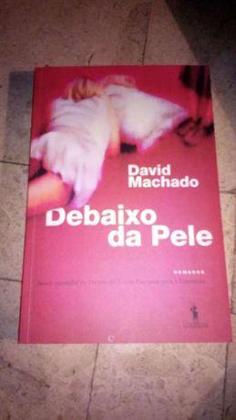 Livro Debaixo da pele, de David Machado NOVO