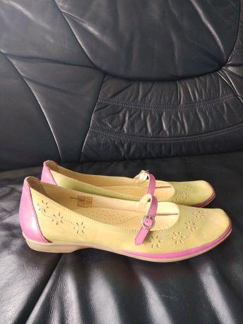 Мокасины туфли эспадрильи кожаные 42р