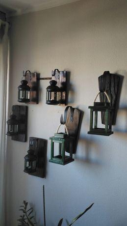 Lanternas novas estilo rustico