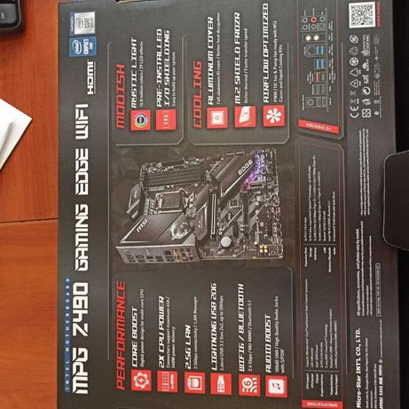 MSI MPZ Z490 Gaming Edge WiFi