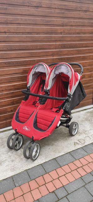 Wózek baby jogger double bliźniaczy
