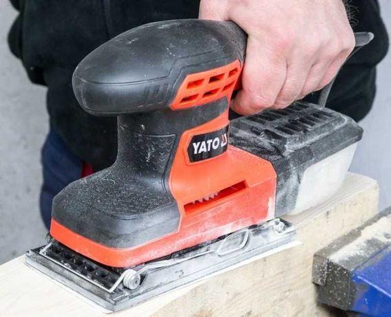Вибрационная плоскошлифовальная машинка YATO YT-82230 новый