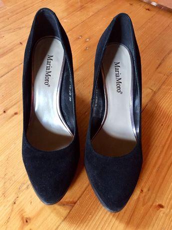 Замшеві туфлі 39р.