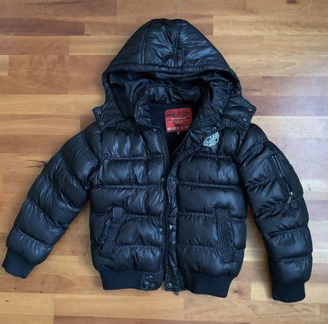 Зимняя куртка на мальчика 13-14 лет, рост 160-170