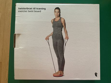 Disco exercicio com elasticos