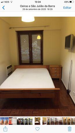 Colchao Sultan Ikea de casal e mobilia de quarto
