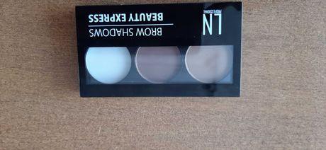 Набор для экспресс-макияжа бровей LN Professional Brow